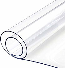 WZRIOP Clear PVC Table Cover Protector, 0.5 mm