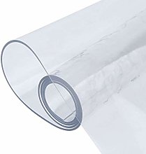 WZRIOP Home Rectangular Tablecloth, Transparent