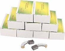 X-DREE 10 Pairs 30 x 11 x 8 x 5mm Carbon Brushes