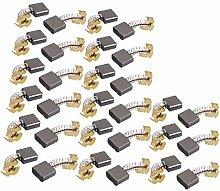 X-DREE 15 Pairs 16x17x7mm Carbon Brushes Power