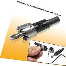 X-DREE 16MM Metal Hole Saw Tool Hex Wrench Twist