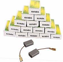 X-DREE 20 Pairs 14 x 8 x 5mm Carbon Brush Power