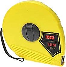 X-DREE 30m Long Yellow Measuring Tool Retractable