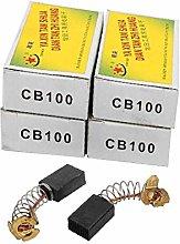 X-DREE 5 Pairs Carbon Brushes Power Tool 15 x 10 x