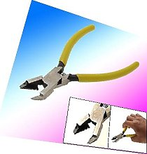X-DREE Precision Crimping Pliers Hand Tool Yellow