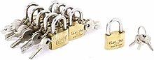 X-DREE Showcase Cabinet Case Box Security Lock
