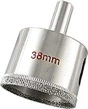 X-DREE Silver Tone 38mm Dia Hole Saw Cutter Tool