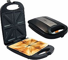 X&J 1200W 4 Slice Sandwich Maker with Non Stick