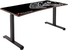 X Rocker Cougar XL Gaming Desk - Black