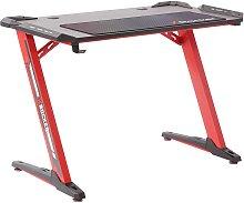 X Rocker Jaguar Gaming Desk - Red
