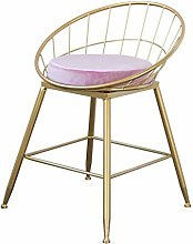 XAGB Bar Chair Barstools With Backrest Footrest