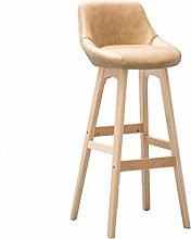 XAGB Home Bar Furniture Wooden Barstool High Stool