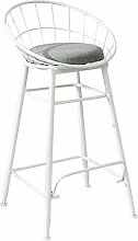 XAGB Metal Bar Stools, High Dining Chairs with