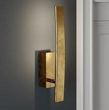 Xalu gold LED wall lamp