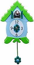 Xanadoo - Cuckoo clock, wall clock, clock - EweCoo