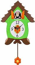 Xanadoo x10105Pendulum Cuckoo Clock Monkey 30x