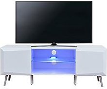 Xander Tv Stand With Led Lights - Fits Up To 55