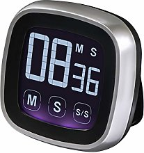 Xavax timer, silver/black
