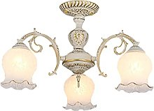XAWV American Country Chandelier Light,Creative