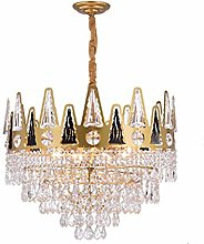 XAWV Luxury Chandelier Light,E14 Base Crystal