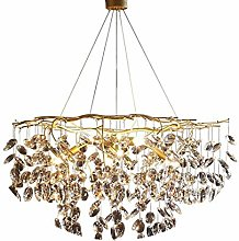 XAWV Modern Crystal Chandelier Light,Creative
