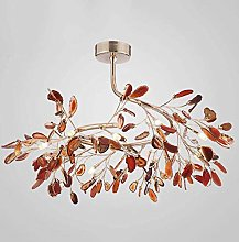 XAWV Modern Simple Chandelier Light,Creative Agate