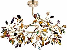 XAWV Nordic Agate Chandeliers,Creative Branches