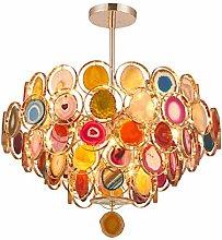XAWV Nordic Luxury Chandelier Light,Modern Agate