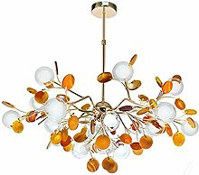 XAWV Nordic Modern Chandeliers,Creative Agate