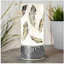 Xbite Ltd - Glass Black Feather Light Tube with