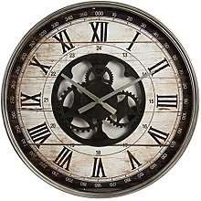 Xbite Ltd - Hometime Vintage Metal Wall Clock Open