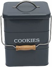 Xbopetda Biscuit Tin Biscottiera Cookie Jar,
