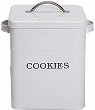 Xbopetda Biscuits Biscottiera Cookie Tin Box