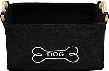Xbopetda Dog Storage Bin Dog Toy Basket with