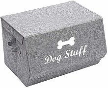 Xbopetda Linen Fabric Foldable Storage Cubes Box,