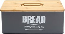 Xbopetda Metal Bread Box Loaves Storage Canister