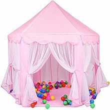 XBR Foldable Kids Tent,Kids Teepee Tent Princess