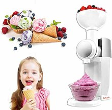 XBR Ice Cream Maker,with Built in Freezer,800ml