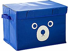 XBT Fabric Folding Bear Cartoon Storage Box Kids