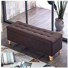 XCJ Ottoman Storage Seat, Storage Ottoman In