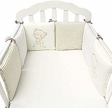 XCJJ Baby Crib Bumper Toddle Nursery Bedding Cot