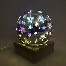 XCJJ Colorful 3D Magic LED Night Light Lamps