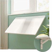 XCJJ Folding Wall-Mounted Drop-Leaf Table