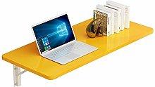 XCJJ Folding Wall-Mounted Table Simple Desk
