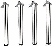 XCJJ Furniture Legs Metal Bar Table Legs,