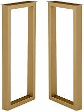 XCJJ Furniture Legs Metal Bar Table Legs, Wrought