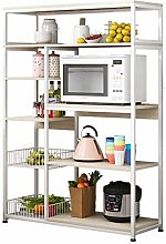 XCJJ Kitchen Shelves Shelf Shelving Storage Unit
