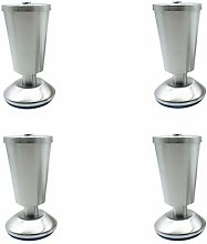 XCJJ Metal Adjustable Cabinet Legs Stainless Steel