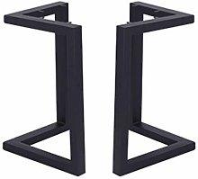 XCJJ Metal Furniture Feet/Iron/Steel Table Legs,