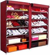 XCJJ Shoe Racks 7-Layer Shoe Rack for 45 Pairs of